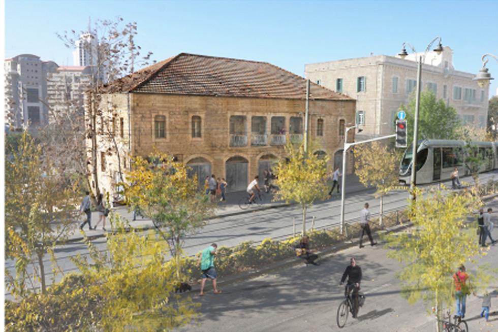 """רחוב יפו בירושלים (צילום: יח""""צ) (צילום: יח"""