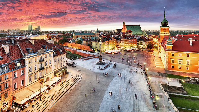 ורשה, פולין (צילום: SHUTTERSTOCK)