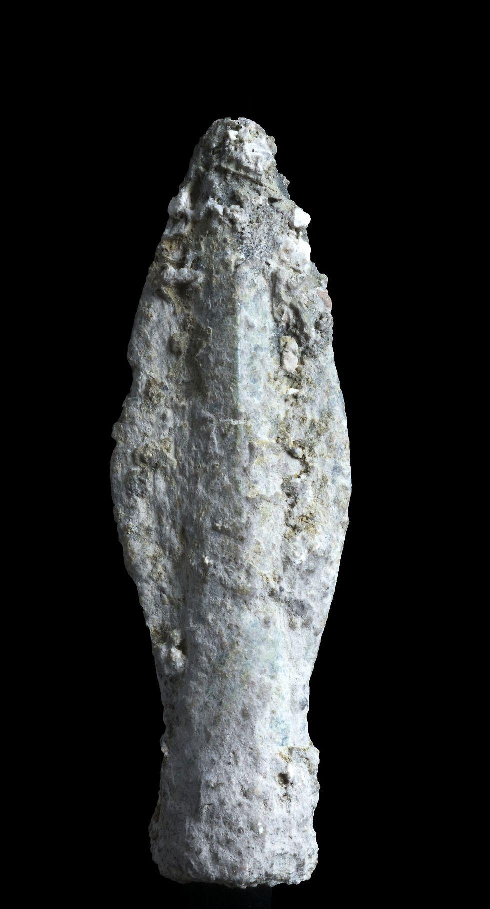 ראש חץ סקיתו-איראני ( צילום: קלרה עמית, באדיבות רשות העתיקות) ( צילום: קלרה עמית, באדיבות רשות העתיקות)