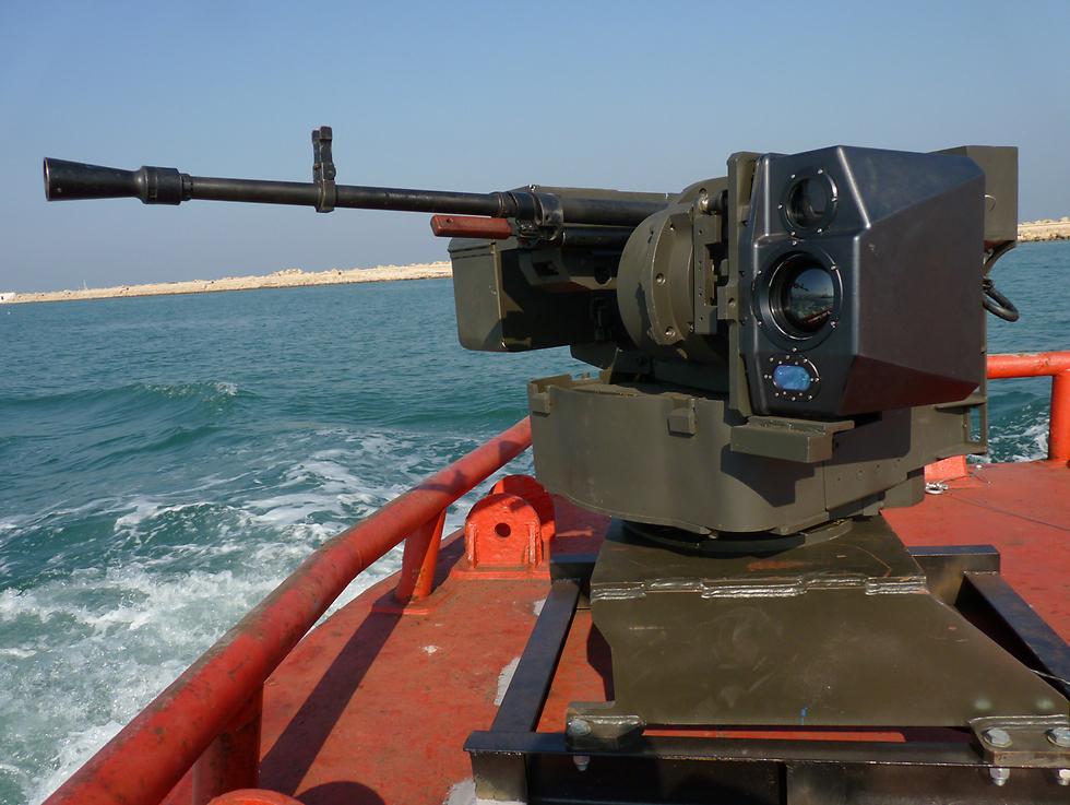 """הנחשול בגרסה הימית. """"המערכת תירה על המטרה בזמן שנוח לה"""" (צילום: תעש מערכות) (צילום: תעש מערכות)"""