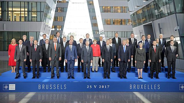 Все участники саммита. Фото: AFP