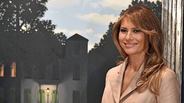 Мелания Трамп посетила в Брюсселе музей. Фото: AFP