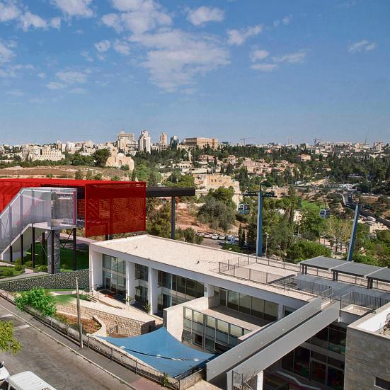 כך יראה הרכבל החדש   צילום הדמיה: הרשות לפיתוח ירושלים