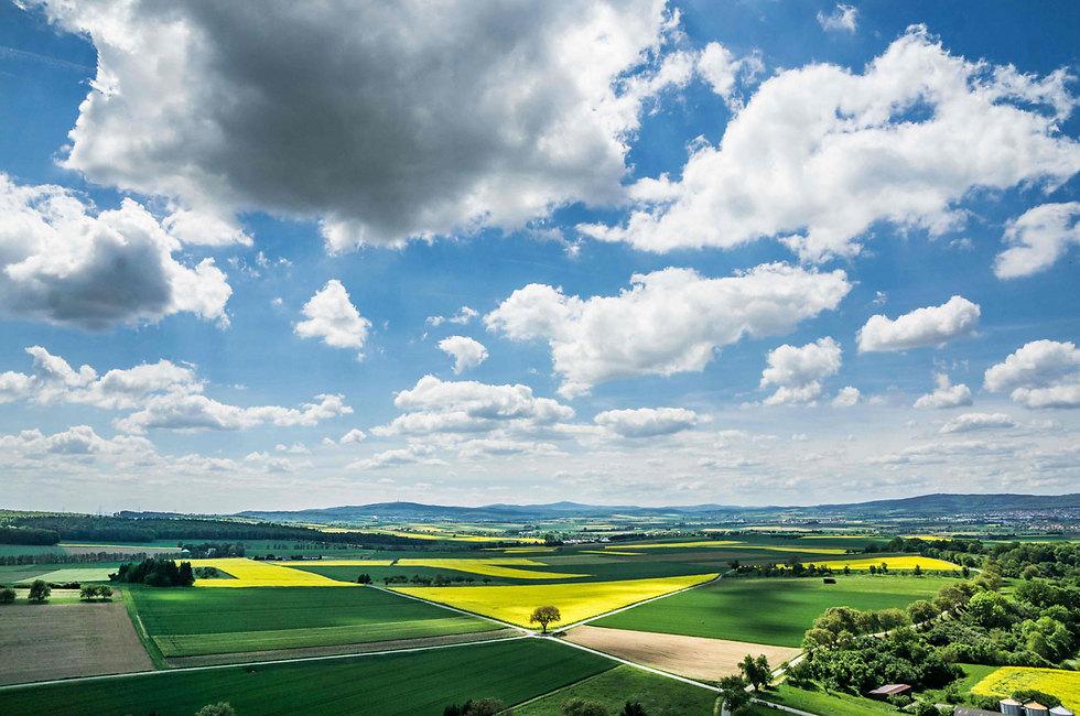 נוף מדהים במויזנברג, מערבית לפרנקפורט (צילום: AFP)