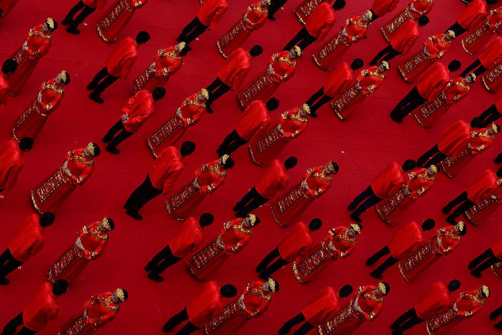 חתונה המונית בגאנג'ואו, סין (צילום: רויטרס)