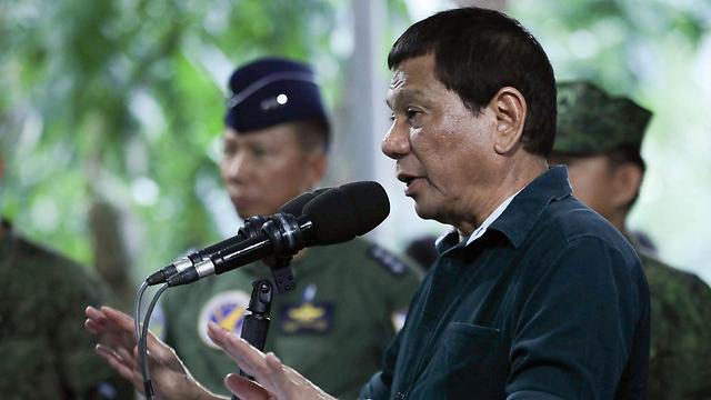 נשיא הפיליפינים רודריגו דוטרטה  (צילום: רויטרס)