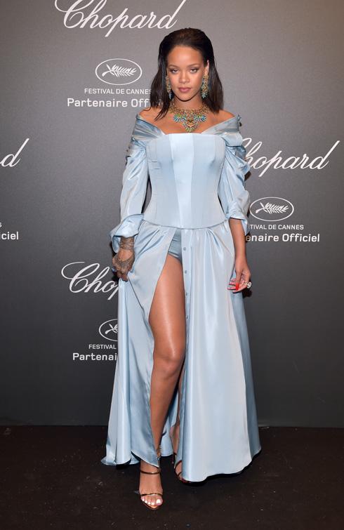 ריהאנה. חולמת להיות נסיכה בסרט של דיסני? (צילום: Gettyimages)