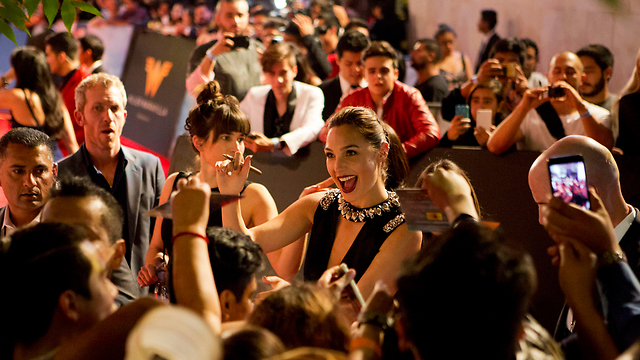 Gadot at the Mexico premiere (Photo: AP)