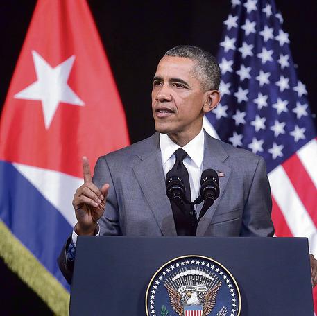 מארס 2016. אובמה פותח דף חדש בביקורו בקובה.