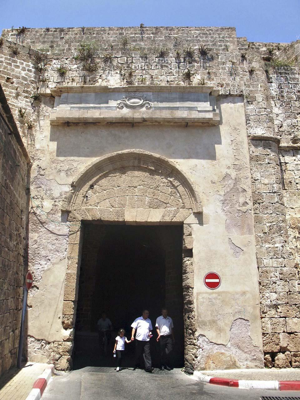 Ворота суши- одни из двух оригинальных ворот турецкой крепостной стены.Фото: Леон Левитас