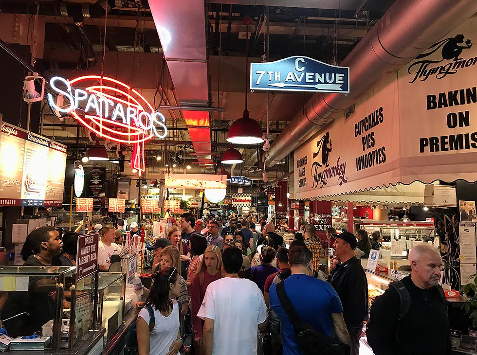"""מאוכל """"נשמה"""" ועד הפילי צ'יז סטייק המפורסם: שוק Reading Terminal Market"""
