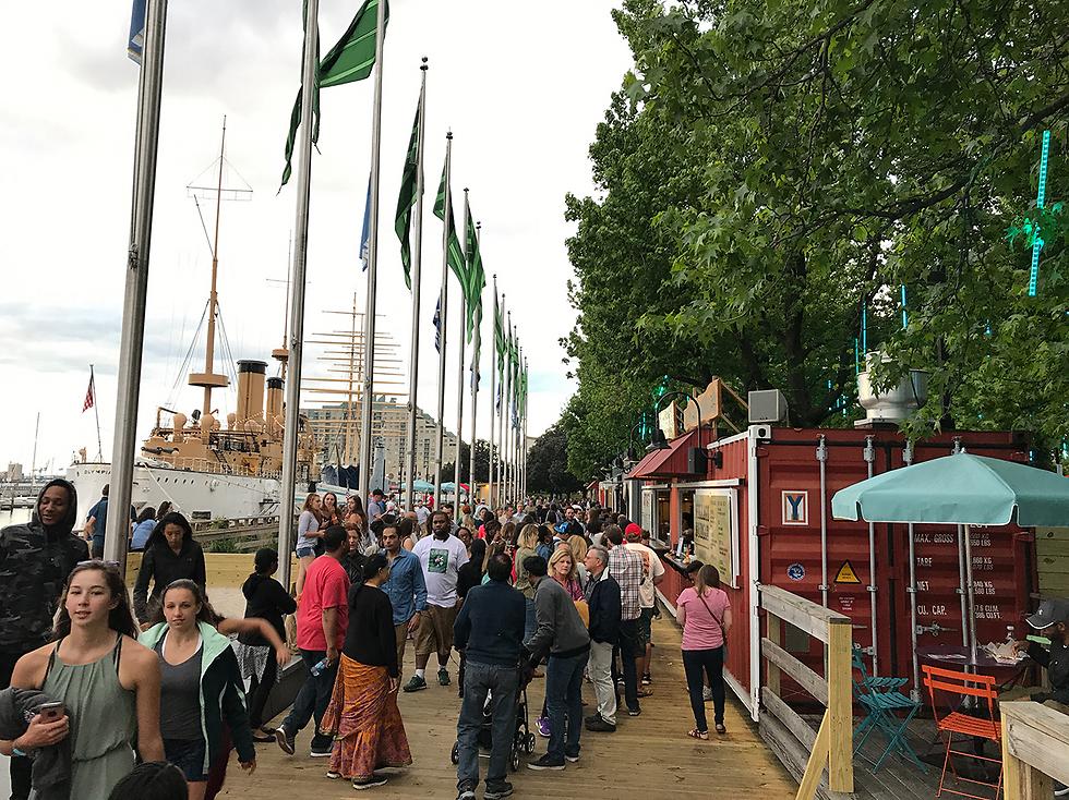 פסטיבל על המים: אזור ה-Spruce Street Harbor