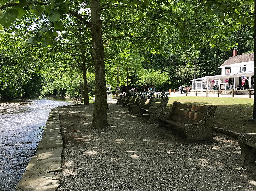 פארק Wissahickon Valley: לטייל בטבע - בעיר