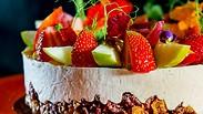 В 3 движения и печь не надо: безмолочный белый торт