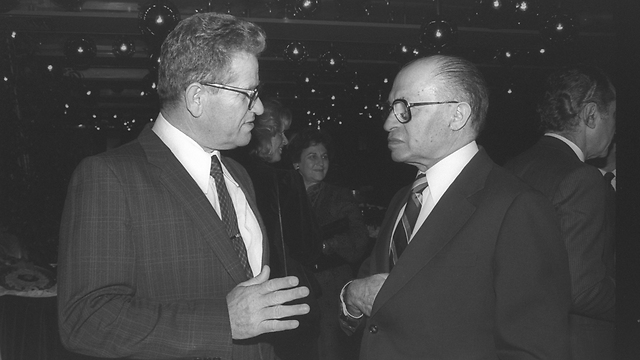 Tzipori with Menachem Begin (Photo: Hanina Harman/GPO)