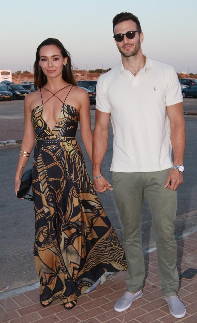 האוהבים הצעירים. מייקל לואיס וסוראיה טורנס (צילום: ענת מוסברג)