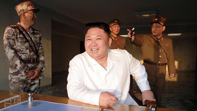 שלושה אזרחים אמריקנים עדיין כלואים בצפון קוריאה. קים ג'ונג און (צילום: רויטרס)