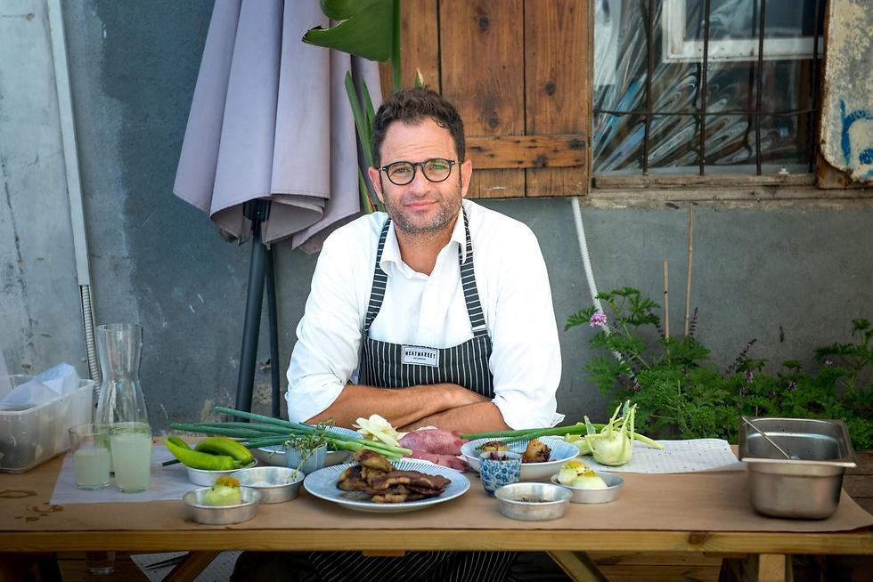 השף ירון קסטנבוים (צילום: ירון ברנר)