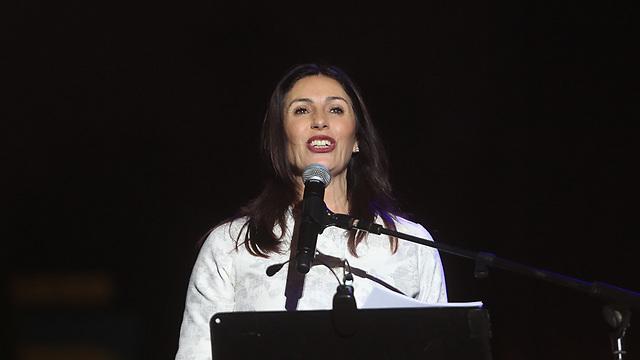 השרה מירי רגב בפסטיבל ישראל (צילום: אלכס קולומויסקי) (צילום: אלכס קולומויסקי)