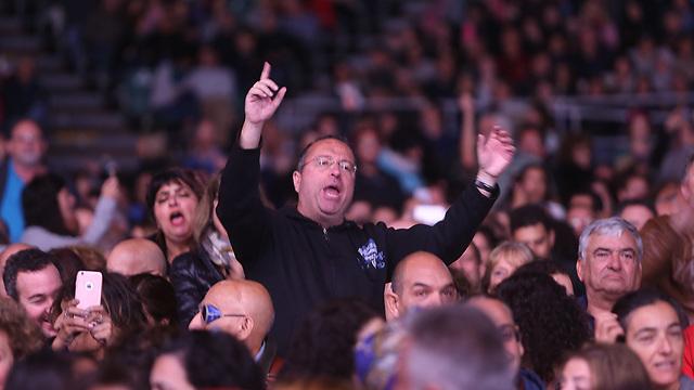 השרה קיבלה שריקות בוז וגם מחיאות כפיים (צילום: אלכס קולומויסקי) (צילום: אלכס קולומויסקי)