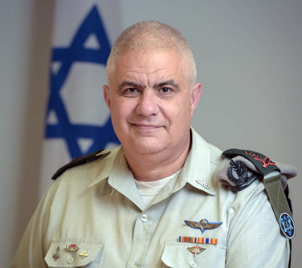 Major General Moti Almoz (Photo: IDF Spokesperson's Unit)