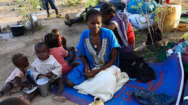 פליטים דרום סודנים באוגנדה (צילום: רויטרס)