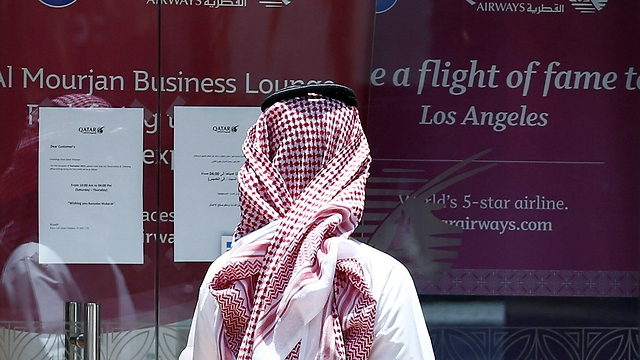 Qatar Airways in Riyadh (Photo: Reuters)