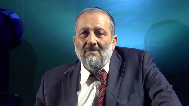 Interior Minister Aryeh Deri (Photo: Avihu Shapira) (Photo: Avihu Shapira)