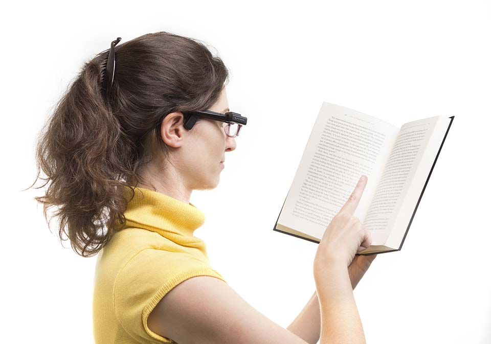 Технология позволяет незрячим читать