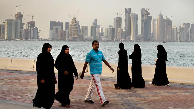 Qatari capital of Doha (Photo: AP)