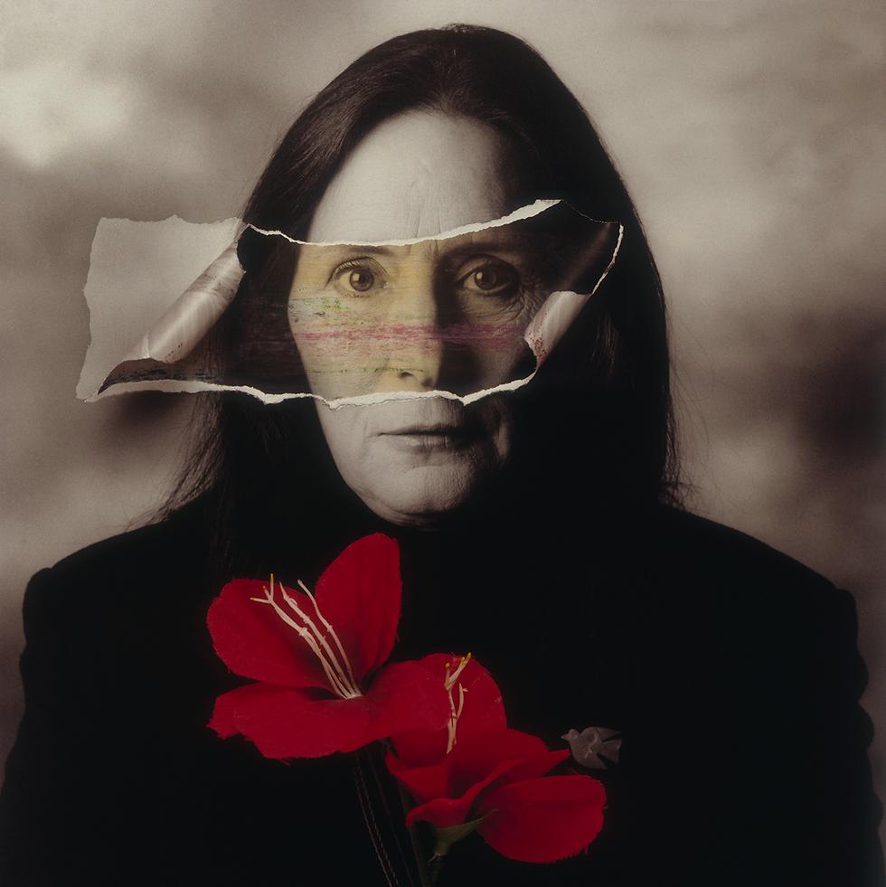יעל דיין, 1996 (צילום: מיכה קירשנר)