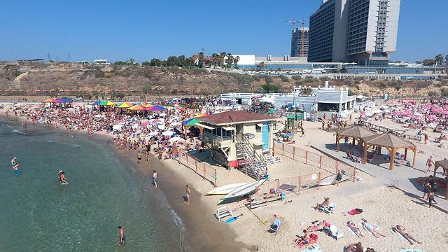 Tel Aviv beach (Photo: Tel Aviv Municipality)