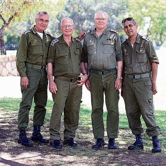 L–R: Miki Zayfa, Shlomo Arbeli, Neri Harali and Moshe Cohen (Photo: Tomerico)