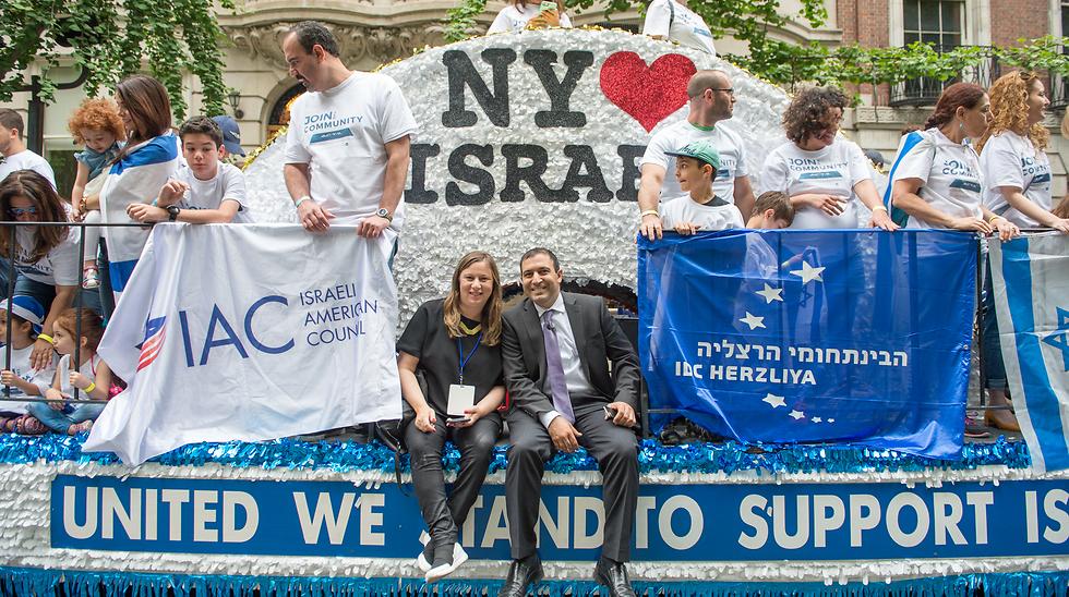 שהם ניקולט במצעד התמיכה בישראל בניו יורק (צילום: אלקסי רוזנפלד) (צילום: אלקסי רוזנפלד)