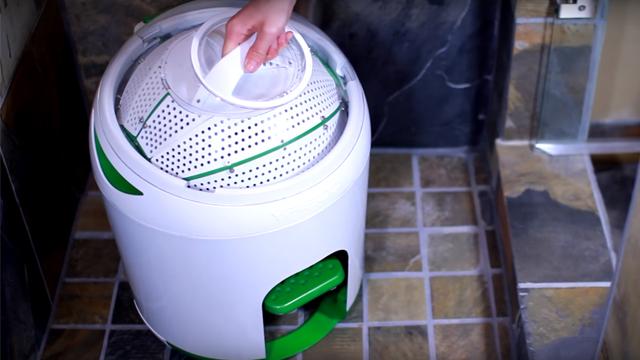 כך נראית המכונה הידנית מבחוץ (מתוך סרטון יוטיוב) (מתוך סרטון יוטיוב)