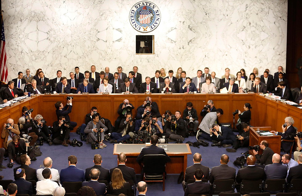 Comey testifying in front of the Senate's Intelligence Committee (Photo: Reuters)