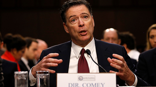 Former FBI head James Comey testifying (Photo: Reuters)