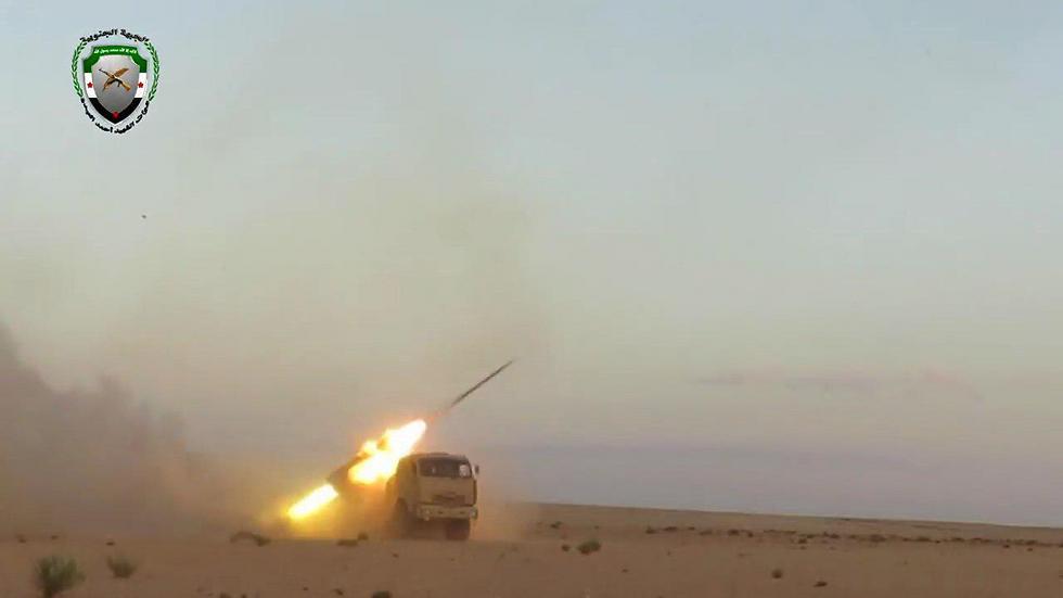 Удар оппозиции по армии Асада