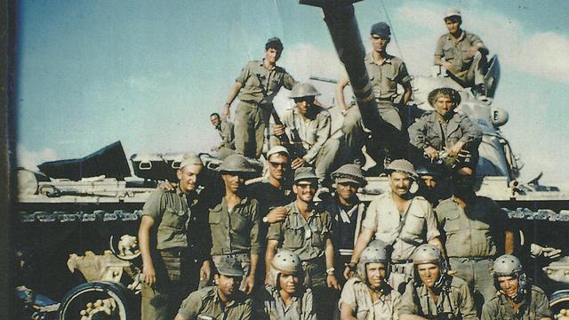 """""""בסוף המלחמה כל הצוות שלי קיבל הוקרה"""" (באדיבות דני קריאף)"""