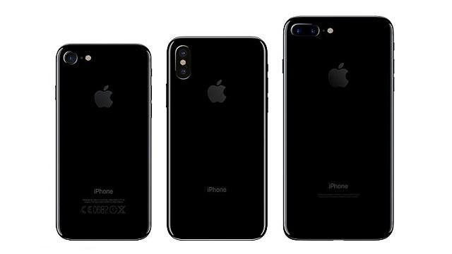 שלושת האייפונים החדשים - מבט מאחור (צילום מסך: iDrop)