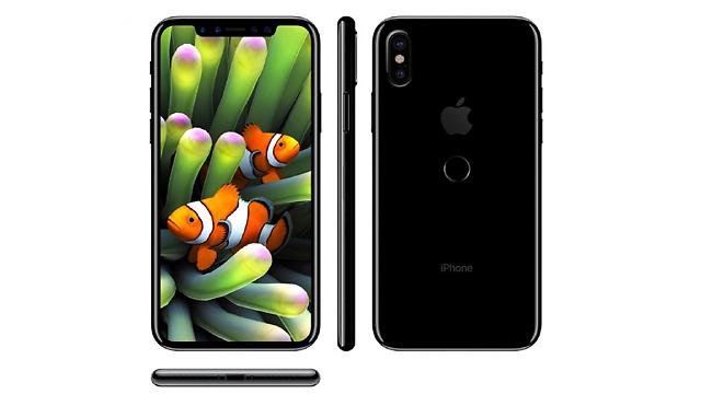 אייפון 8 מכל הכיוונים (צילום מסך: iDrop)