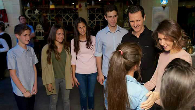 The Assad family. Bombing the presidential palace where they reside is likely