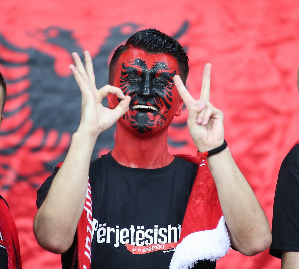 ב-2016 האלבנים חגגו, כיום אין להם סיבה (צילום: עוז מועלם) (צילום: עוז מועלם)
