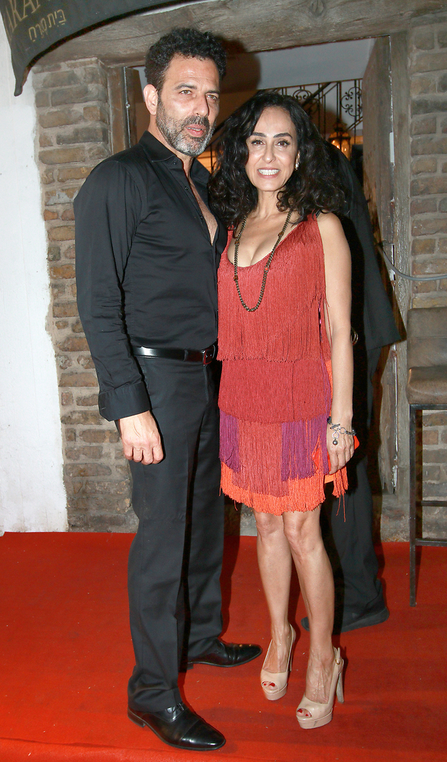 הכי ביחד! ריטה ובן הזוג צ'רלי בוזגלו משיקים את הזוגיות ביום ההולדת של ניקול ראידמן (צילום: ענת מוסברג)