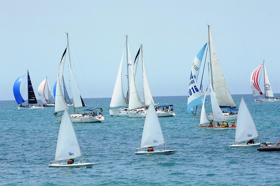 מתוך אירועי Sail Tel Aviv בשנה שעברה (צילום: אבשלום שושני)