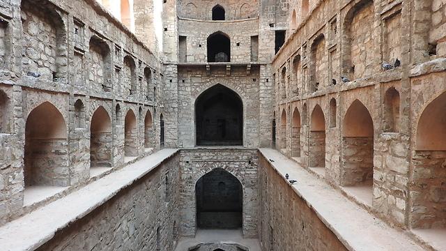 לברוח מההמולה: באר סודית ומדרגות אגרסאן (צלם: מיכל ארליך )
