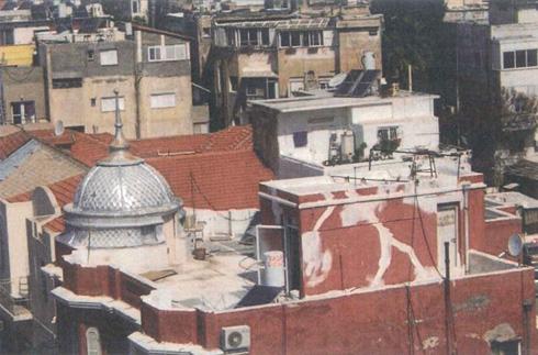 הגג לפני השיפוץ (צילום: באדיבות אמנון בר אור אדריכלים)