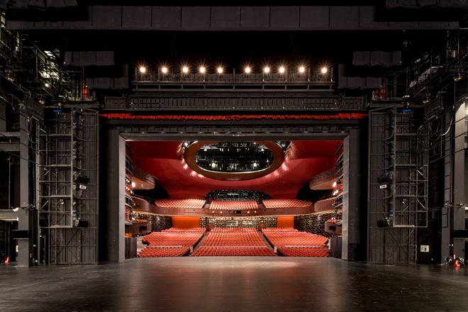 מבט מהבמה אל האולם (צילום: National Taichung Theater)