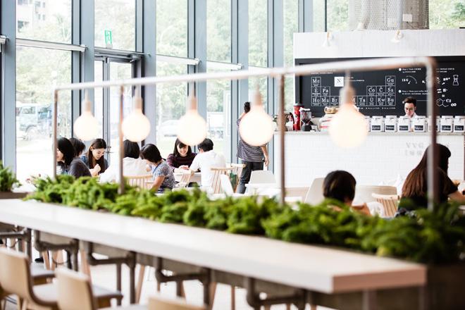 אפשרויות נינוחות יותר בקומת הכניסה (צילום: National Taichung Theater)