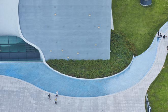 מבט מהגג (צילום: National Taichung Theater)